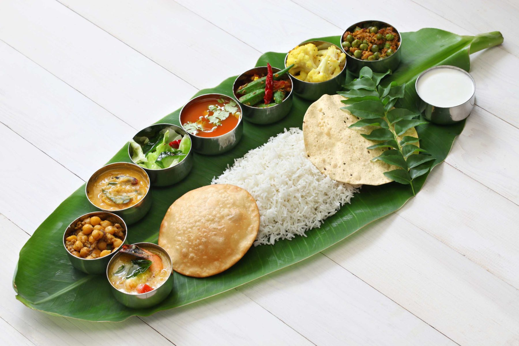 Foreverfit Meals Served On Banana Leaf Traditional South