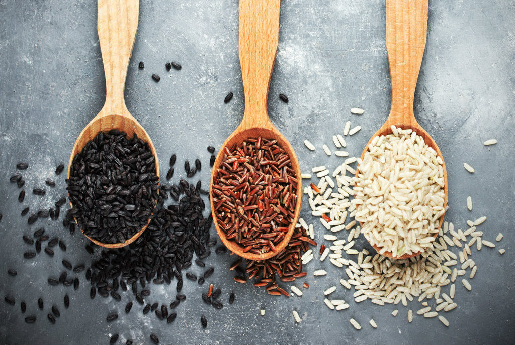 Foreverfit- Different rice varieties